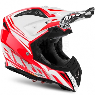 2017 Airoh Aviator 2.2 Helmet Ready Red Image 4