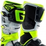 Gaerne SG12 Motocross Boots - Limited Edition Grey Fluo Yellow
