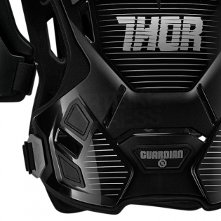 Thor Kids Guardian Body Protection - Black Silver Image 2