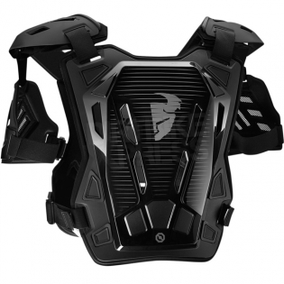 Thor Kids Guardian Body Protection - Black Silver Image 3