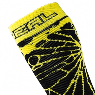 ONeal MX Boot Socks - Enigma Black Neon Image 2
