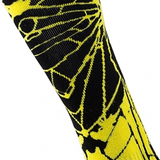 ONeal MX Boot Socks - Enigma Black Neon Image 3