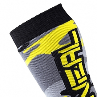 ONeal MX Boot Socks - Hunter Black Grey Neon Image 2