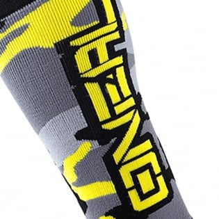 ONeal MX Boot Socks - Hunter Black Grey Neon Image 3