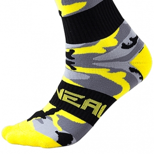 ONeal MX Boot Socks - Hunter Black Grey Neon Image 4
