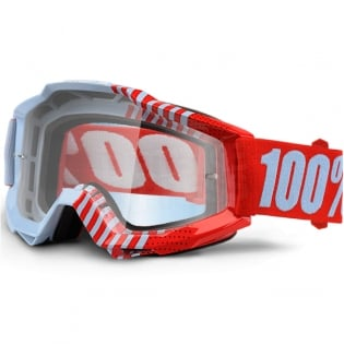 100% Accuri Goggles - Cupcoy Clear Lens Image 3