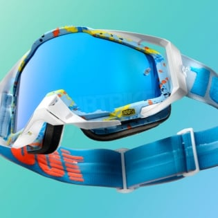 100% Racecraft Goggles - Hyperloop Mirror Lens Image 2
