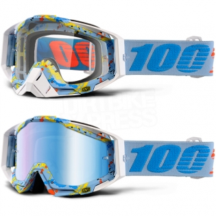 100% Racecraft Goggles - Hyperloop Mirror Lens Image 3