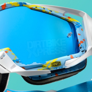 100% Racecraft Goggles - Hyperloop Mirror Lens Image 4