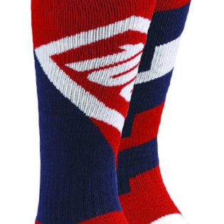 100% Torque Motocross Socks - Red Image 3