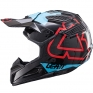 2017 Leatt GPX 5.5 V15 Helmet - Black Blue