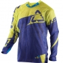 2017 Leatt GPX 4.5 X-Flow Motocross Kit Combo - Blue Lime