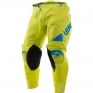 2017 Leatt GPX 4.5 X-Flow Motocross Kit Combo - Lime Blue