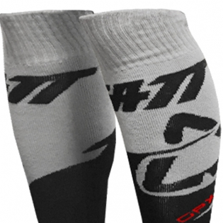 Leatt GPX Kids Motocross Socks - Black Image 2