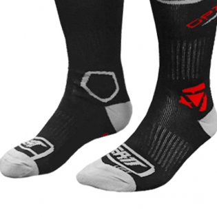 Leatt GPX Kids Motocross Socks - Black Image 4