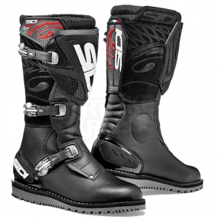 Sidi Zero.1 Trials Boots - Black Image 3