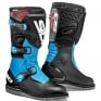 Sidi Zero.1 Trials Boots - Black Light Blue