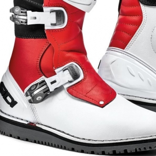 Sidi Zero.1 Trials Boots - White Red Image 4