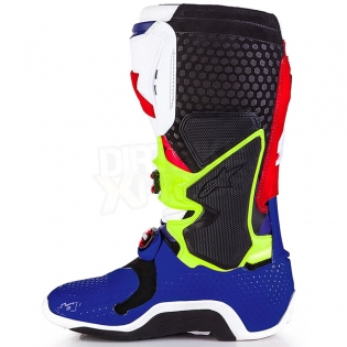 Alpinestars Tech 10 Boots - Ltd MX of Nations Blue Red Image 4