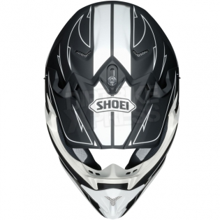 2017 Shoei VFXW Helmet - Hectic Matt Black White TC5 Image 3