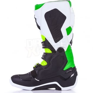 Alpinestars Tech 7 Boots - Ltd Vegas Black White Green Flo Yellow Image 4