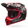Bell MX9 MIPS Helmet - Tagger Double Trouble Black Red