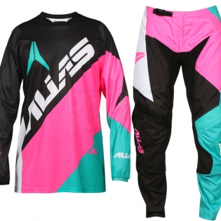 2017 Alias A2 Kit Combo - Blocked Black Neon Pink Image 2