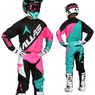 2017 Alias A2 Kit Combo - Blocked Black Neon Pink Image 3