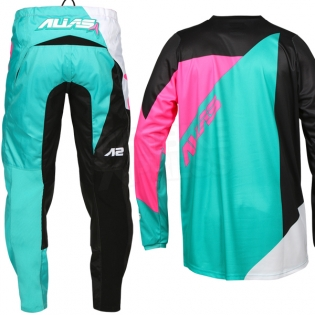 2017 Alias A2 Kit Combo - Blocked Black Neon Pink Image 4
