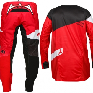 2017 Alias A1 Jersey - The Standard Red Black Image 4