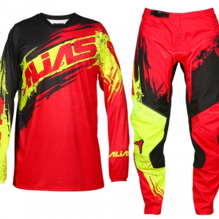 2017 Alias A2 Jersey - Brushed Red Black Image 2