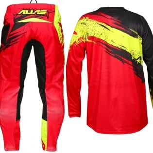 2017 Alias A2 Jersey - Brushed Red Black Image 4