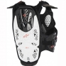 Alpinestars A4 Chest Protector - White Black Red