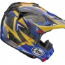 Arai MXV Motocross Helmet - Broc Tickle Trophy Girl Blue Ltd Edition