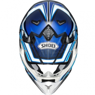 2017 Shoei VFXW Helmet - Capacitor Blue White TC2 Image 3
