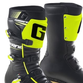 Gaerne Trials Boots - Balance Classic Black Fluo Yellow Image 2