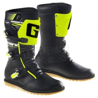 Gaerne Trials Boots - Balance Classic Black Fluo Yellow Image 3