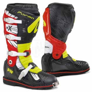 Forma Terrain TX 2.0 Motocross Boots - Black Fluo Yellow Red Image 3