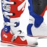 Forma Terrain TX 2.0 Motocross Boots - White Red Blue