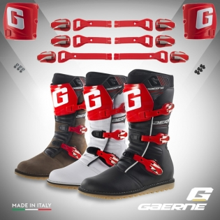 Gaerne Trials Boot Conversion Kit - Red Image 4
