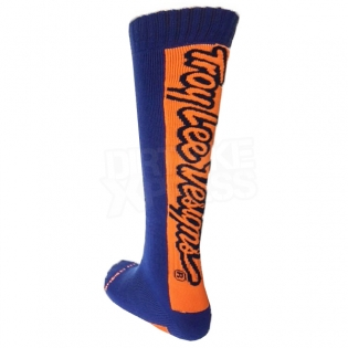 Troy Lee Designs GP Motocross Socks - Holeshot Navy Image 3