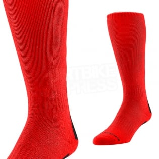 Troy Lee Designs GP Motocross Socks - Holeshot Red Image 2