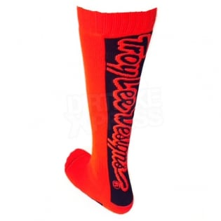 Troy Lee Designs GP Motocross Socks - Holeshot Red Image 4