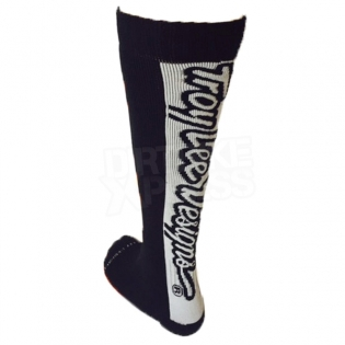 Troy Lee Designs GP Kids Motocross Socks - Holeshot Black Image 3