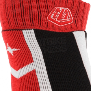 Troy Lee Designs GP Motocross Socks - Factory Red Image 3
