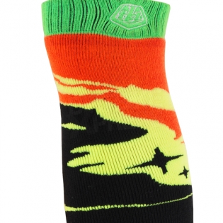 Troy Lee Designs GP Kids Motocross Socks - Galaxy Black Yellow Image 4