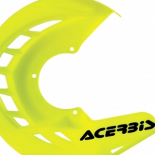 Acerbis X-Brake Front Disc Protector Fluo Yellow Image 2