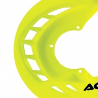 Acerbis X-Brake Front Disc Protector Fluo Yellow Image 3