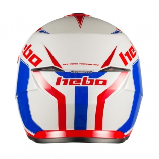 Hebo Zone 5 Polycarb Trials Helmet - Like Blue Red Image 4