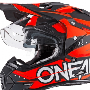 ONeal Sierra 2 Adventure Helmet - Slingshot Orange Image 3